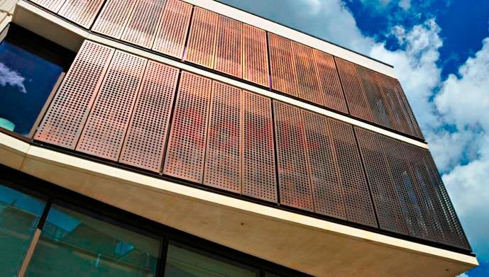 Fachadas Met 225 Licas Perforadas Para Exterior De Edificios