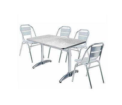 Muebles para restaurantes y cafeteria industrias romil for Mesas y sillas para restaurante